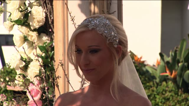 bride and groom recite wedding vows - wedding vows stock videos & royalty-free footage