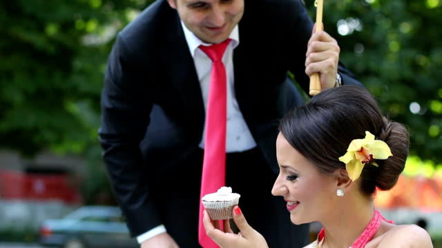 bride and groom - dinner jacket stock videos & royalty-free footage