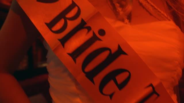 vídeos y material grabado en eventos de stock de novia a - despedida de soltera