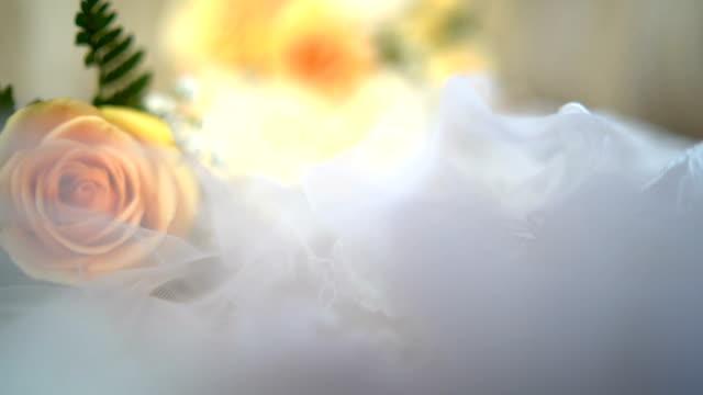 brides bouquet - wedding preparation - bouquet stock videos & royalty-free footage