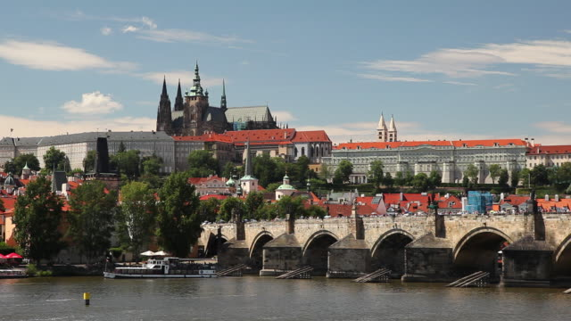WS Bridge and Hradcany Castle / Prague, Czech Republic