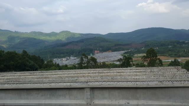 bridge construction in danang,vietnam - danang stock videos & royalty-free footage