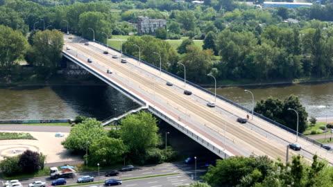 bridge in magdeburg - brain stem stock videos & royalty-free footage