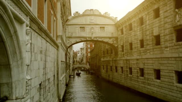 Seufzerbrücke in Venedig-Venezia Wahrzeichen