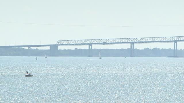 Bridge over St. Lawrence river