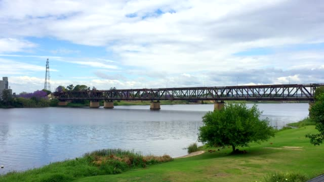 Bridge Over The Clarence River at Grafton Australia