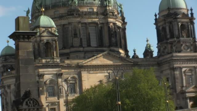WS ZO Bridge to Museum Island with view of Berliner Dom / Berlin, Germany
