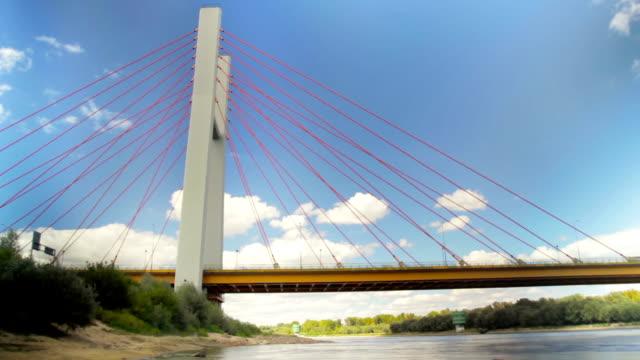 Brücke Verkehr Zeitraffer