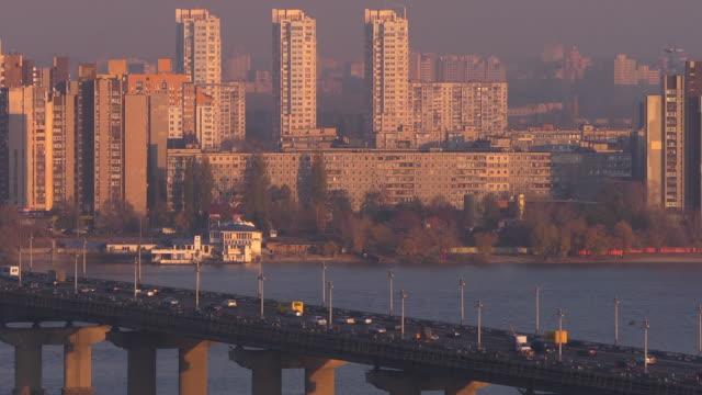 cu bridge - キエフ市点の映像素材/bロール