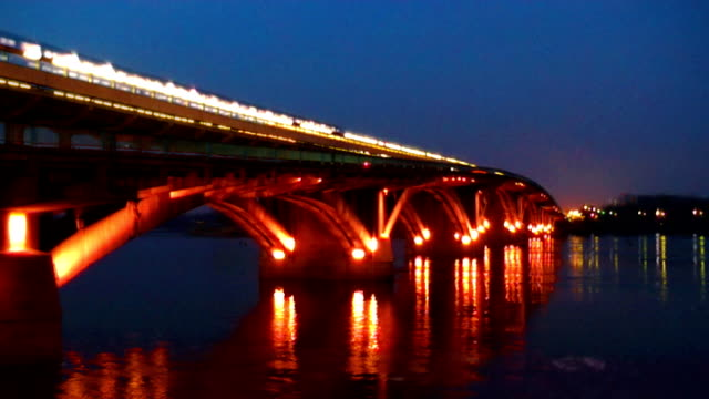 bridge - ukraine stock videos and b-roll footage