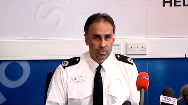 media coverage blamed as another teenager found dead int assistant chief constable dave morris press conference sot on the danger that suicide may... - 記者会見点の映像素材/bロール