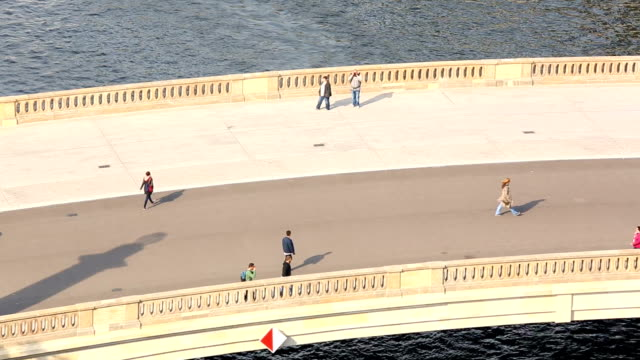 Bridges in Berlin, close to the Berliner Dom, Realtime