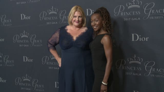 Bridget Carpenter and Dormeshia SumbryEdwards at 2017 Princess Grace Awards Gala With Presenting Sponsor Christian Dior Couture at The Beverly Hilton...