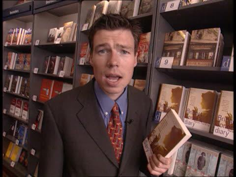 bridget jones' diary cs book 'bridget jones' diary' pull out to i/c dawn bebe intvwd all my friends are like that - diary stock videos & royalty-free footage