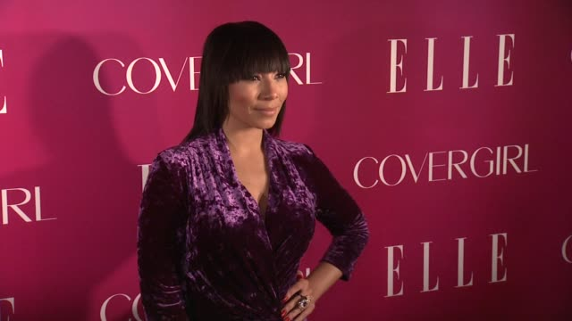 bridget kelly 4th annual elle women in music celebration arrivals at the edison ballroom on april 10 2013 in new york new york - edison ballroom stock videos & royalty-free footage