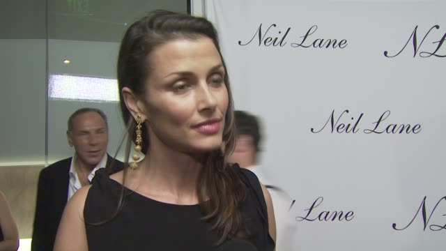 Bridget Moynahan on attending tonight's event on if she's wearing any Neil Lane jewelry on her favorite pieces by Neil Lane and on her well wishes...