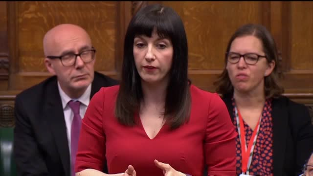 mp bridget phillipson calls on prime minister boris johnson to more funds for doctors after a decade of tory cuts during prime minister's questions... - prime minister's questions stock videos & royalty-free footage