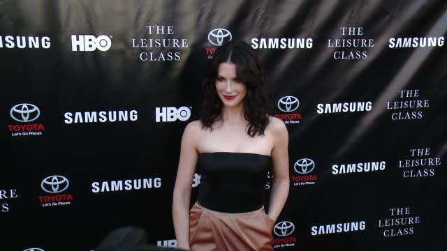 Bridget Regan at Matt Damon Ben Affleck Adaptive Studios And HBO Present The Project Greenlight Season 4 Winning Film The Leisure Class at The...