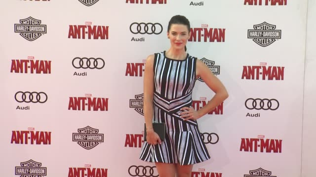 Bridget Regan at The World Premiere of Marvel's AntMan at Dolby Theatre on June 29 2015 in Hollywood California