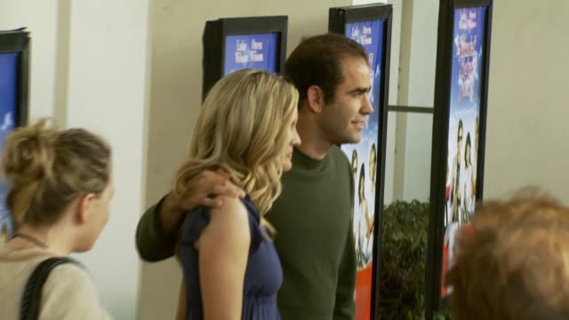 bridget sampras and pete sampras at the 'the wendell baker story' premiere at writers guild of america in los angeles california on may 10 2007 - pete sampras stock videos & royalty-free footage