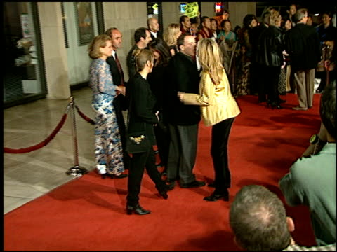 bridgette wilson at the 'seven years in tibet' premiere at cineplex odeon in century city california on october 6 1997 - odeon cinemas stock videos & royalty-free footage