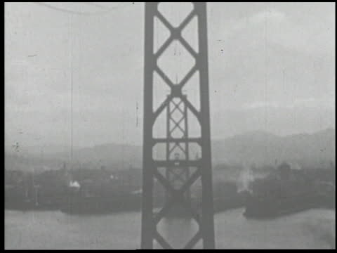bridging san francisco bay - 6 of 16 - see other clips from this shoot 2109 stock videos and b-roll footage