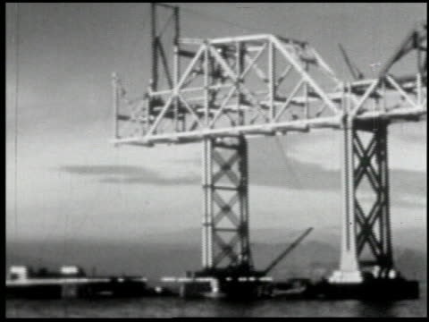 bridging san francisco bay - 7 of 16 - see other clips from this shoot 2109 stock videos and b-roll footage