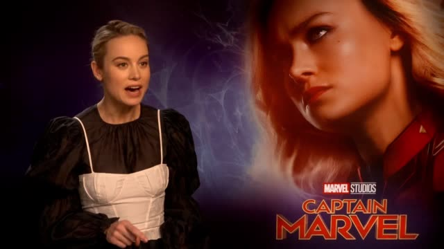 Brie Larson and Samuel L Jackson talk about the upcoming film Captain Marvel The movie which comes out in cinemas on March 8 Captain Marvel gets...