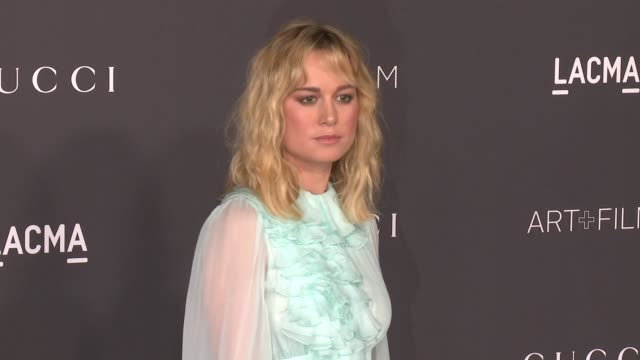 Brie Larson at 2016 LACMA Art Film Gala Honoring Robert Irwin And Kathryn Bigelow Presented By Gucci at LACMA on October 29 2016 in Los Angeles...