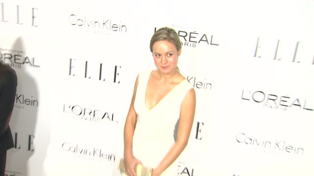 Brie Larson at 20th Annual ELLE Women In Hollywood in Beverly Hills CA on 10/21/13