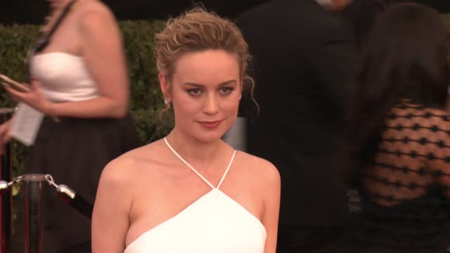 Brie Larson at 23rd Annual Screen Actors Guild Awards Arrivals in Los Angeles CA