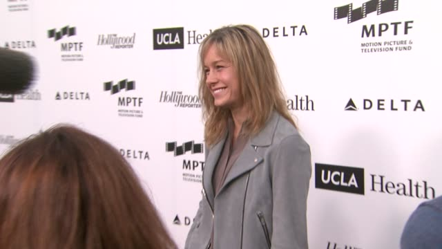 Brie Larson at 3rd Annual Reel Stories Real Lives Benefiting The Motion Picture Television Fund in Los Angeles CA