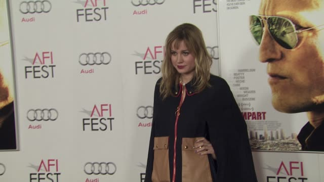 Brie Larson at the 2011 AFI FEST Millennium Entertainment's 'Rampart' Special Screening at Hollywood CA