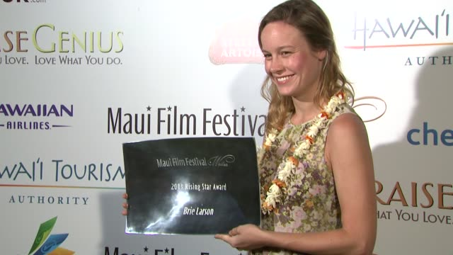 Brie Larson at the 2013 Maui Film Festival at Wailea Brie Larson at the 2013 Maui Film Festival at on June 12 2013 in Wailea Hawaii