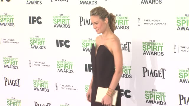 Brie Larson at the 2014 Film Independent Spirit Awards Arrivals on March 01 2014 in Santa Monica California