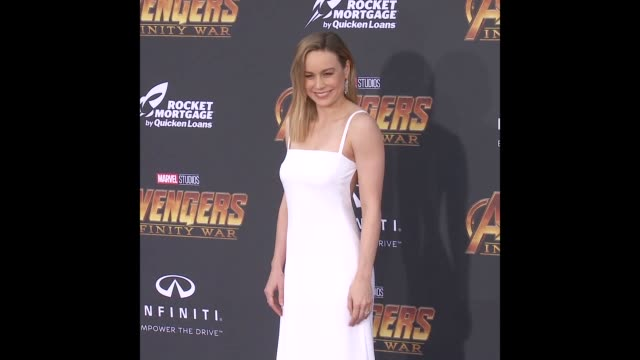 Brie Larson at the 'Avengers Infinity War' World Premiere