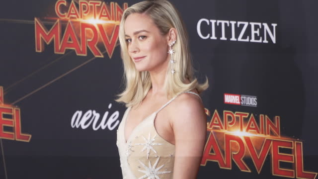Brie Larson at the 'Captain Marvel' World Premiere