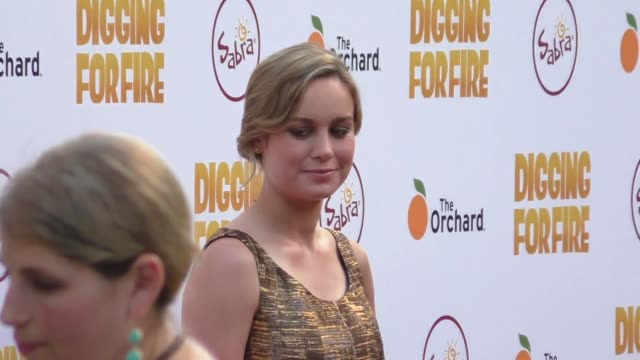 Brie Larson at the Digging For Fire Premiere at ArcLight Theatre in Hollywood in Celebrity Sightings in Los Angeles