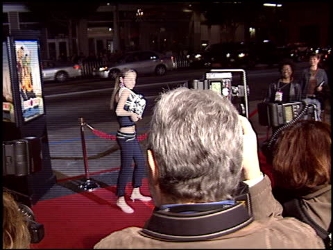brie larson at the 'Eurotrip' Premiere at Grauman's Chinese Theatre in Hollywood California on February 17 2004