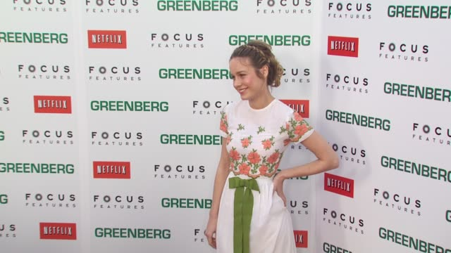 Brie Larson at the 'Greenberg' Premiere at Hollywood CA