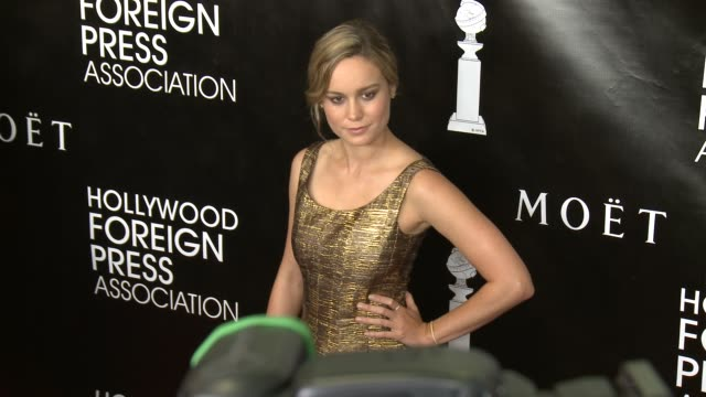 vídeos de stock, filmes e b-roll de brie larson at the hollywood foreign press association's annual grants banquet dinner at the beverly wilshire four seasons hotel on august 13 2015 in... - four seasons hotel