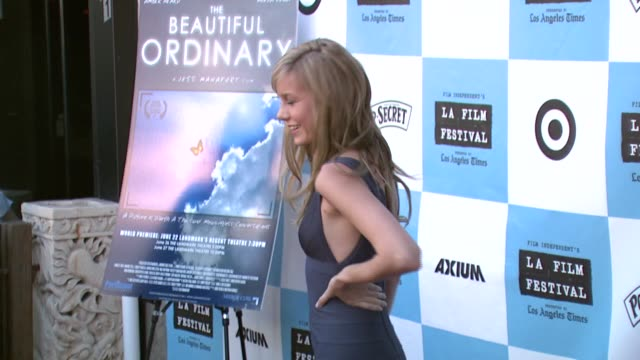 Brie Larson at the 'The Beautiful Ordinary' Premiere at Landmark's Regent Theatre in Los Angeles California on June 24 2007