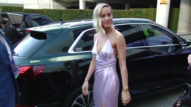 Brie Larson at the World Premiere of Marvel Studios' Avengers Endgame