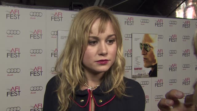 Brie Larson her role on her collaboration with Woody Harrelson and Oren Moverman at the 2011 AFI FEST Millennium Entertainment's 'Rampart' Special...