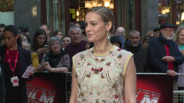 Brie Larson on October 11 2015 in London England