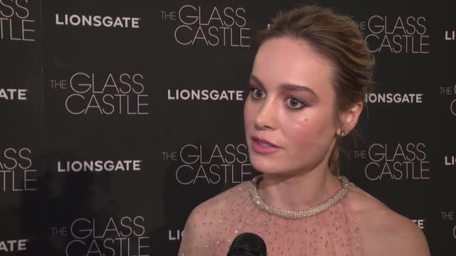 interview brie larson on working with some of her favorite people the film and what it means to her at lionsgate presents the new york special... - brie stock videos & royalty-free footage