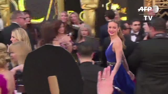 Brie Larson se alzo el domingo con el Oscar a Mejor actriz por La habitacion y la sueca Alicia Vikander se quedo con el de Mejor actriz de reparto...