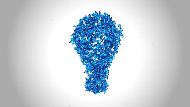 Bright Idea Lamp made by Blue Butterflies - Alpha