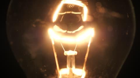 bright idéer, glöd lampa - ljusutrustning bildbanksvideor och videomaterial från bakom kulisserna