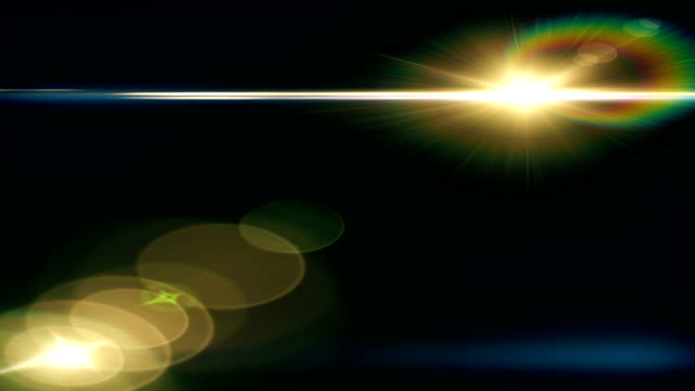 bright lens flare background - photographic equipment stock videos & royalty-free footage